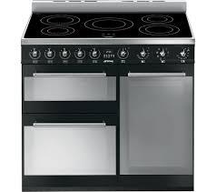 Smeg Induction Cooktops Buy Smeg Symphony 90 Cm Electric Induction Range Cooker Black