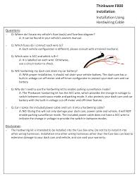 Auto Battery Wiring Diagram Connecting Dashcam To Fuse Box Dash Cam Installation Kit U2022 Sharedw Org