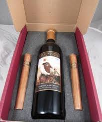 Cigar Gift Set Exciting New Wine U0026 Cigar Holiday Gift Pack