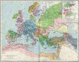 Map Of Europe And North Africa by High Middle Ages Wikipedia