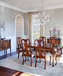 wainscoting dining room wallpaper