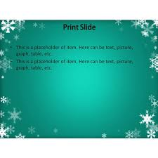 winter powerpoint template download free winter powerpoint