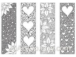 zendoodle printable bookmarks zentangle inspired joartyjo