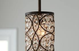 Pendant Light Chandelier Awesome Crystal Pendant Lighting One Light Chandelier Image Of