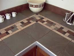 kitchen countertop tile ideas ceramic tile kitchen counters with laminate countertop images of