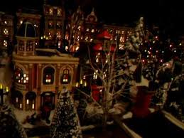 department 56 in the city display 2009 by