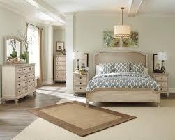 ashley king bedroom sets ashley demarlos parchment white king bedroom set dream rooms furniture