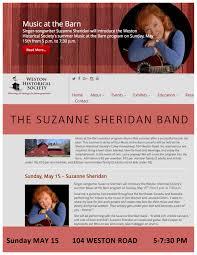 The Barn Westport Upcoming Gigs Suzanne Sheridan Music