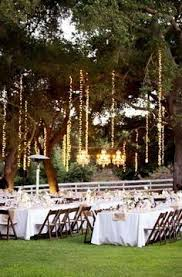 Backyard Wedding Lighting Ideas by Defiantly Doing This On One Of The Trees Close To The Seating Area