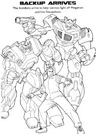 transformers coloring pages free kids