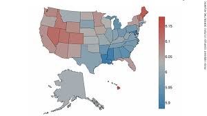 happiest states in america the happiest and saddest states according to twitter cnn