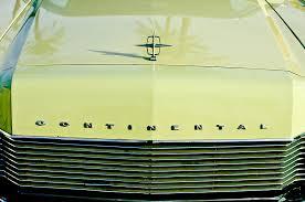 1967 lincoln continental grille emblem ornament photograph