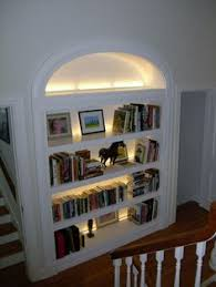 Bookcase Lights Diy Inexpensive Energy Efficient Bookshelf Lighting All Of These