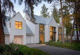 lakefront house a contemporary interpretation of the shingle style