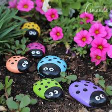 40 creative ideas for making painted rocks