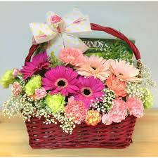get well soon baskets get well soon basket incl chicken essence flower chimp my