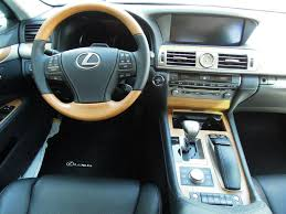 2013 lexus 460 f sport lexus gives the 2013 ls sedan a more character with a