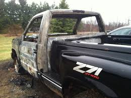 my cousin u0027s truck was struck by lightning