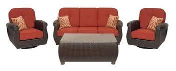 Patio Furniture Set Patio Conversation Seating Sets La Z Boy Outdoor Furniture