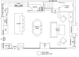 Kitchen Remodel Layout Image Of Kitchen Layout Ideas With - Simple kitchen floor plans