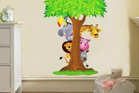 dschungel kinderzimmer 32 safari nursery wall painting ideas baby nursery decorative