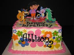 dora and friends birthday cake