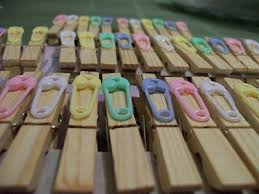 clothespin baby shower bridal or baby shower clothes pin lena b designs