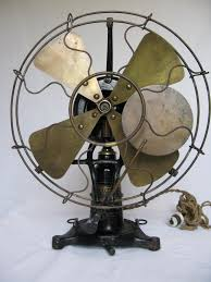 vintage fans early electric fans