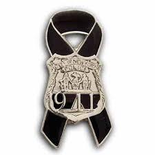 memorial ribbons new york 9 11 awareness ribbon memorial pin nyfirepolice