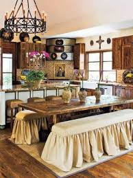 Wrought Iron Kitchen Wall Decor French Farmhouse Decorating Kitchen And Dining Area With Wrought