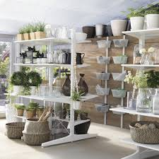 the ikea algot storage system can be easily customized to fit