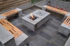 Concrete Firepits Building A Concrete Pit Diy Concrete Pit Table