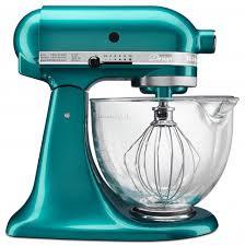 Kitchen Aid Knives The Stunning Seaglass Kitchenaid Ksm155 Stand Mixer Platinum