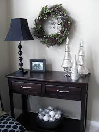 how to decorate a side table in a living room how to decorate a side table intended for supreme christmas