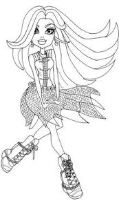 fashion model coloring pages draculaura u0027s wedges coloring page busy kids printables
