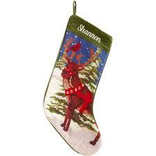 personalized needlepoint christmas personalized needlepoint christmas reindeer walmart