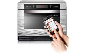 new samsung smart oven can be set with an android app the verge