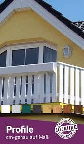 kunststoffprofile balkon sichtschutzzäune auf maß sichtschutzzaun shop de