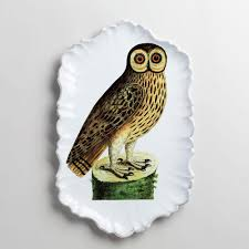 owl item astier de villatte u0026 john derian owl platter k colette