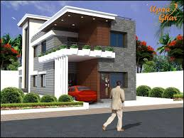 Duplex Home Plans 6 Bedrooms Duplex 2 Floor House Design In 208m2 8m X 26m