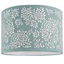 Bedroom Ideas Using Duck Egg Blue This Light And Lively Laser Cut Ivory Lampshade Is A Fresh New