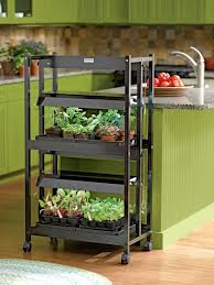 Kitchen Grow Lights Plant Grow Lights With Two Shelves Gardener S Supply