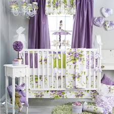 Pink And Grey Nursery Curtains by Sweet Baby Girl Nursery Bedding Home Decorations Ideas