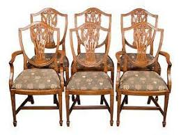 antique wooden dining chairs home interior design