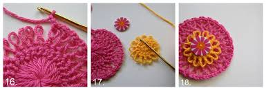 hairpin crochet hairpin rosette crochet pattern favecrafts