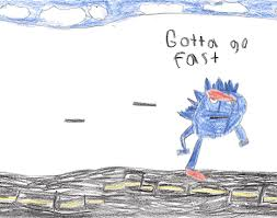 Gotta Go Fast Meme - sonic the hedgehog gif find share on giphy