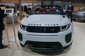 range rover truck in skyfall range rover evoque convertible usa auto world