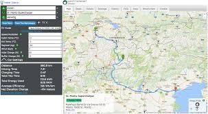 Tesla Supercharger Map Der Ultimative Routenplaner Für Tesla U0027s U2013 Ev Trip Planner U203a Carmart Ch