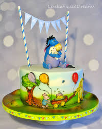 winnie the pooh cakes winnie the pooh story cake cakecentral