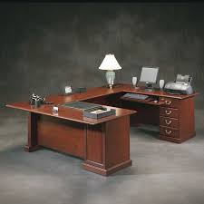 Sauder Office Desk Sauder Heritage Hill Outlet Executive U Shaped Desk 72 Wide X 108
